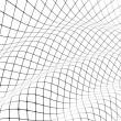 3 d グリッド カバー曲面 — ストック写真