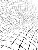 3d Gitter abgedeckt Kurvenfläche — Stockfoto
