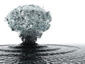 Underwater explosion — Stock Photo
