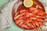 Cooked shellfish platter — Stock Photo