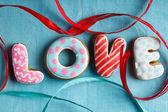St. Valentine's cakes - Stock Image — Zdjęcie stockowe