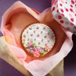 Stock Photo: St. Valentine's cakes - Stock Image