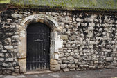 A door in a wall — Stock Photo