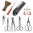 Bonsai tools — Stock Photo