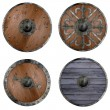 Collection of 3d renders - shields — Stock Photo #25750547
