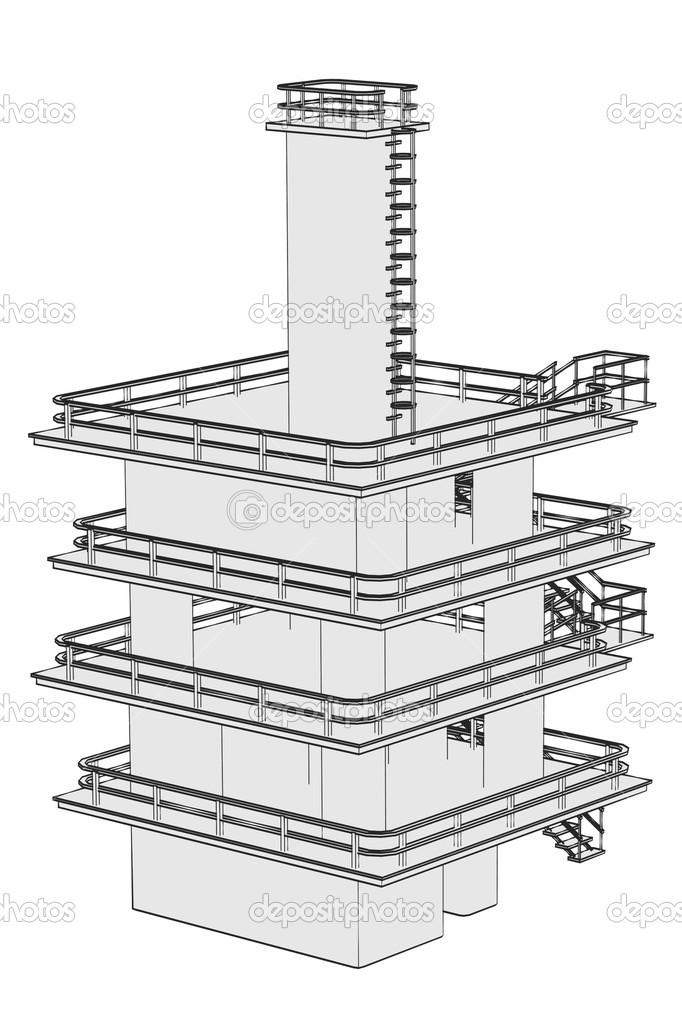 Industrial Cartoon Images Cartoon Image of Industrial