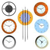 Realistic 3d render of clocks — Photo