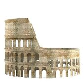 Realistic 3d render of coloseum — Stock Photo