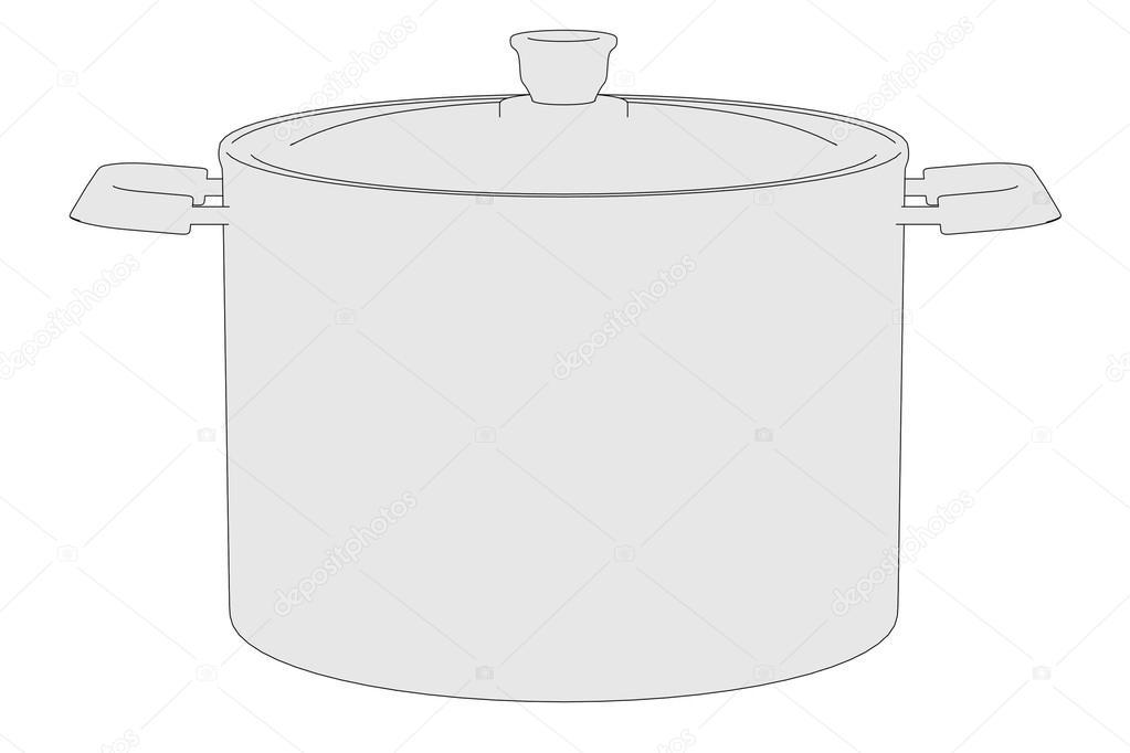 Image de dessin anim de la marmite photographie 3drenderings 40072769 - Dessin marmite ...