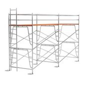 Realistic 3d render of scaffolding — Stock Photo