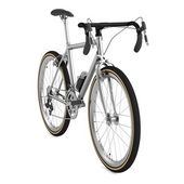 3d render of racing bicycle — Stock Photo