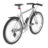 Render of mountain bicycle — Stock Photo
