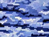 Puzzle de textura azul — Foto de Stock