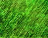 绿雨纹理 — 图库照片