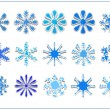Snowflake scrapbook — Stock Photo #13381487