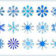 Royalty-Free Stock Photo: Snowflake scrapbook