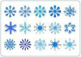 Snowflake scrapbook — Stock Photo