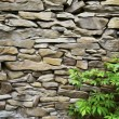 Stock Photo: Oil painting stone wall