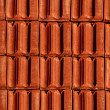 Brick red roof — Stock Photo