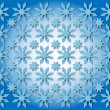 Stars in the shape of snowflakes — Stock Photo