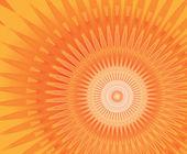 Sun mandala — Stock Photo
