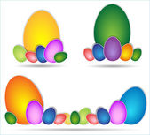 easter egg colored — Foto Stock