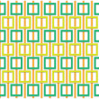 Stock Photo: Orange and green square pattern