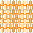 Stock Photo: Orange square pattern