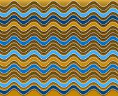 Summer wavy pattern — Stock Photo