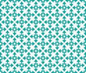 Arrows starshaped pattern emerald — Stock Photo