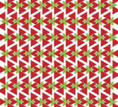 Red and green triangles — Stock Photo
