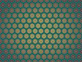 Estrela de papel de natal verde — Fotografia Stock
