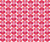 Valentine pattern — Stock Photo