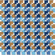 Irregular squares pattern — Stock Photo