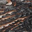 Charred wood board — Stock Photo #44162411