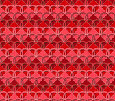 Heart fabric pattern — Stock Photo