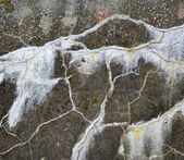Concrete wall with cracks — Stock Photo