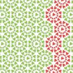 Heart flower pattern — Stock Photo #45670373