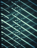 Shade of blinds on the wall — Stock Photo