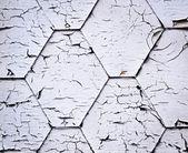 Crackled painted shingle — Stock Photo