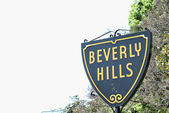 Beverly Hills sign — Stock Photo
