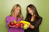 Nutritionists women posing — Stock Photo