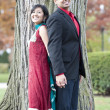 A Young Happy Indian Couple — Stock Photo #50553539
