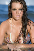 Young swimsuit model — Foto de Stock