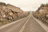 Peruvian roadway near Arequipa — Foto de Stock