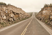 Peruvian roadway near Arequipa — Stock Photo