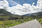 Перуанский проезжую часть около Арекипа Перу — Стоковое фото