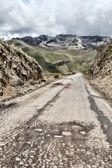 Peruvian roadway — Stock Photo