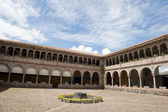 Courtyard in Cusco Peru — Foto Stock