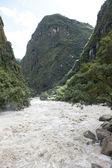 View from Machu Picchu — Foto de Stock